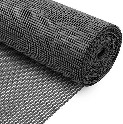 KOOCHUWAH Inserto de cajón, Base de Alfombra, Alfombra Antideslizante Alfombra Antideslizante no Adhesiva (Negro, 300x50cm)