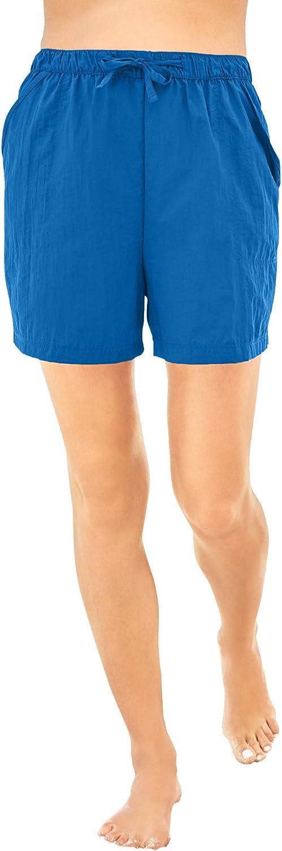 Swimsuits For All Women's Plus Size Taslon&Reg Coverup Bottom with Elastic Waist Swimsuit Bottoms