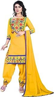 Yellow Patiala Salwar suit