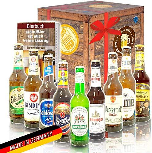 60. Geburtstag Geschenk für Freund - Bier Box + Bierbewertungsbogen