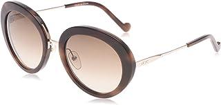ليو جو نظارة شمسية للنساء، عدسات رمادية - LJ678S