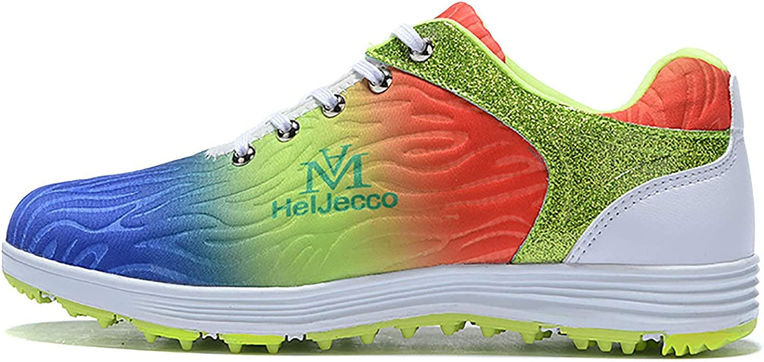 Ranking TOP11 AIAIⓇ Men's Golf Shoes Sports Large special price !! wear-Resista Colorful