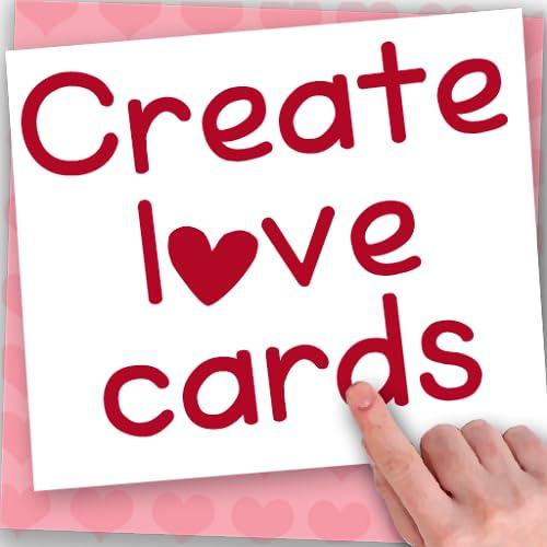 Criar cartões do amor