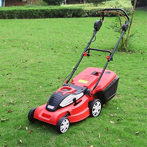 MYPNB Cortadora de césped eléctrica, 1800w de Alta Potencia cortadora de Hierba hogar Multifuncional Auto propulsado recortador de césped cortadora de césped de jardín Parque Patio