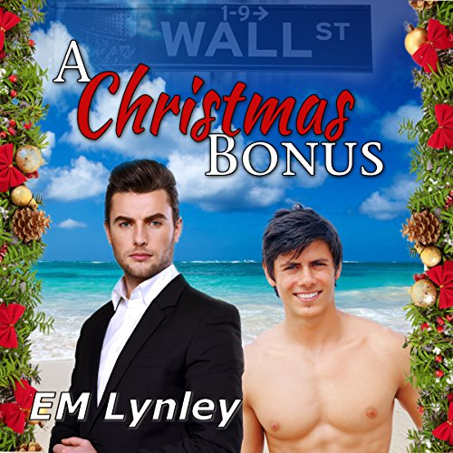 A Christmas Bonus audiobook cover art