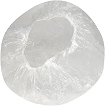 Sonline 40pcs Disposable one-off Clear Spa Hair Salon Home Shower Bathing Elastic Caps