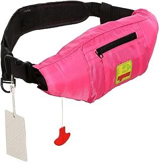 Lifesaving Pro Premium Belt Pack PFD Universal 33G Manual Waist Inflatable Lifejacket Survival Buoyancy Adult Life Jacket Vest
