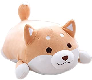 Shiba Inu Dog Soft Plush Throw Pillow Lifelike Animal Pillows Plush Toy for Valentine's Gift, Bed,Sofa Chair