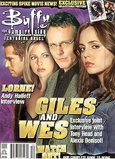 Buffy The Vampire Slayer Magazine #22 (December/January 2005)