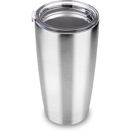 20 Oz Tumbler-Rambler Thermal Coffee Travel Cup for Hiking Cupbase Drinkware Water Bottle-Gifts for Her Camping Traveling 235 Stainless Steel Water Lid Double Wall Vacuum Insulated Coffee Mug