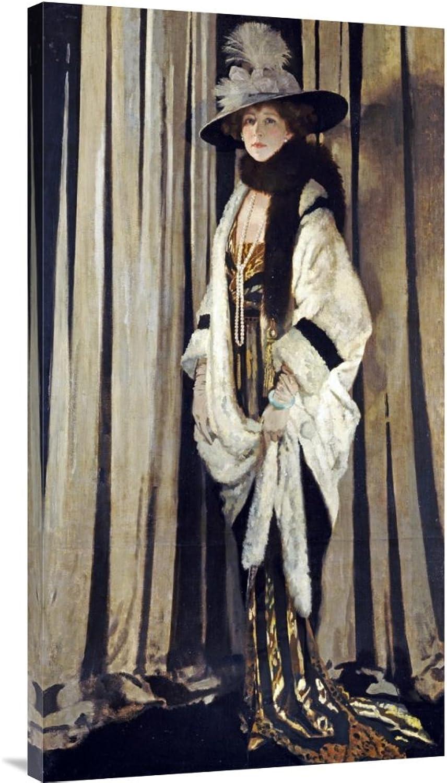 Global Galerie Budget gcs-265315–91,4–360,7 cm Sir William Orpen Mrs. St. George Galerie Wrap Giclée-Kunstdruck auf Leinwand Art Wand B01K1PSO74   Verschiedene