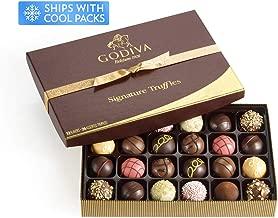 Godiva Chocolatier Classic Signature Chocolate Truffles Gift Box, Chocolate Truffles, Chocolate Gifts, 24 pc