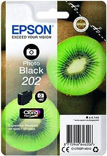 Epson 202 Serie Kiwi, Cartuccia originale getto d'inchiostro Claria Premium, Formato Standard, Nero Foto