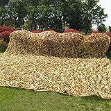 Red de Camuflaje Decorar para Acampar al Aire Libre, Malla de Camuflaje de Tela Oxford para fotografía temática de Coche(Marrón) (Size : 10m×10m)
