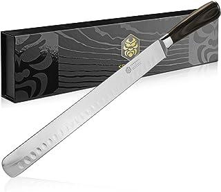 Kessaku Slicing Carving Knife - Samurai Series - Japanese Etched High Carbon Steel, 12-Inch