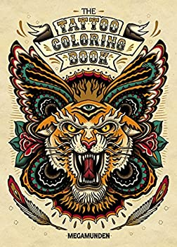 Tattoo Coloring Book   Adult Coloring Books Coloring Books for Adults Coloring Books for Grown-Ups