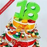 Sindy Bomboniere Torta BOMBONIERA Cupcake Clip portafoto per diciottesimo 18 Anni (Torta da 20 fette)