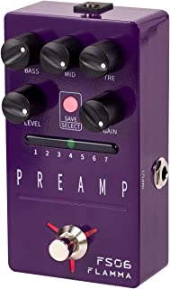 FLAMMA FS06 Digital Preamp Pedal Guitar Pedal with...