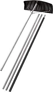 "Suncast 24"" Adjustable Roof Rake with 20' Resin Handle – Durable.."