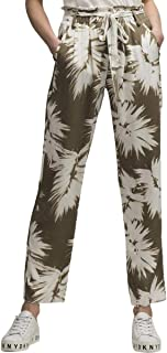 f61d9de565 FREE Shipping on eligible orders. DKNY Womens Printed Ankle High-Waist Pants
