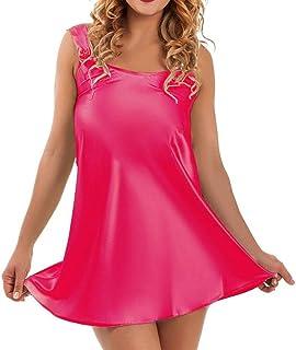 30b48fd9cf HHmei Women Lingerie Babydoll Sleepwear Underwear Sexy Nightwear Dress