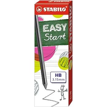 1x 6 Bleistiftminen Stabilo EasyErgo 3,15 HB