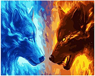 Best fire wolf drawing Reviews