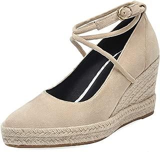 MisaKinsa Women Fashion Spring Shoes Ankle Strap