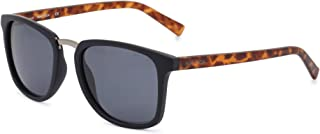 Nautica Men's N4622Sp 420 53 Sunglasses, Blue (Matte Navy/Gunmetal)
