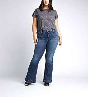 Silver Jeans Co. Women's Plus Size High Note Flared Leg