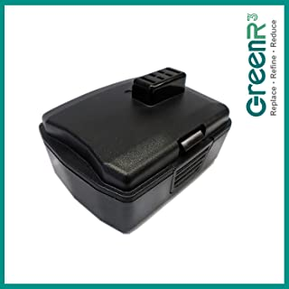 GreenR3 1-PACK 2000mAh 2.0Ah Replacement Li-ion Battery Cordless for Ryobi CB120L 12V fits CB121L Drill Power Tool Lithium BPL-1220 130503001 130503005 BID-1201 CAH120LK CD100 CK212DA CKF-120LM