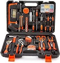 GGOOD 102 Mecánica de Piezas Caja de Herramientas Llave de Tubo Set Hand Repair Kit de Herramientas de combinación Caja con Estuche de plástico Suministros Teléfono