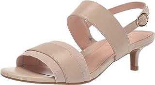 Taryn Rose Women's Odette Heeled Sandal, Ceramic, 5.5 M M US