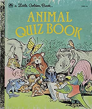 Animal Quiz Book - Book  of the Little Golden Books