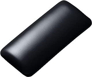 サンワサプライ マウス用リストレスト(レザー調素材、ブラック)