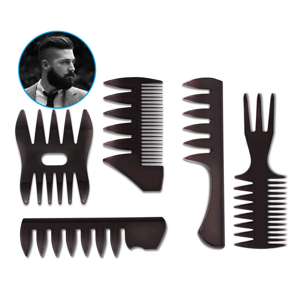 5 Pcs Professional Styling Comb Set Tooth Ranking TOP13 Combs Max 55% OFF H Wide