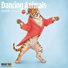 2020 Dancing Animals Calendar 16 Month 12 x 12 Wall Calendar by Bright Day Calendars (Kids and Family Collection) (Dancing Animals 2020)