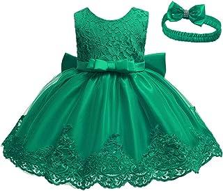 iSpchen Vestido de Tirantes para Ni/ña con Diadema Vestidos sin Mangas para Beb/és Falda Casual Linda Falda de Chaleco para Ni/ña Peque/ña de 1-6T