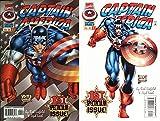 CAPTAIN AMERICA #1 Combo (1st Rikki Barnes)