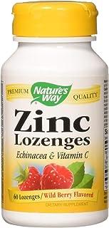 Nature's Way, Zinc Lozenges, Wild Berry Flavor, 60 Lozenges