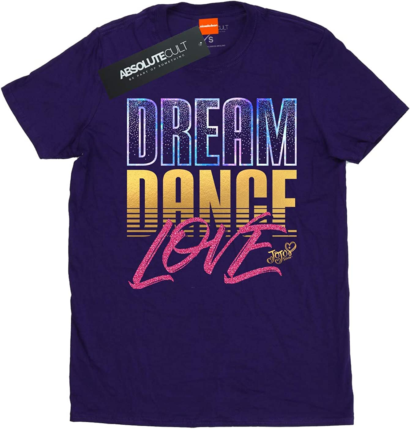 JoJo Siwa Girls Dream Dance Love Galaxy T-Shirt