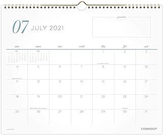 """""""تقويم الحائط الأكاديمي 2021-2022، كامبريدج، شهرًا، 38 سم × 30 سم، متوسط، للمدرسة، المعلم، الطلاب، نمط العمل، أزرق مخضر (1..."""