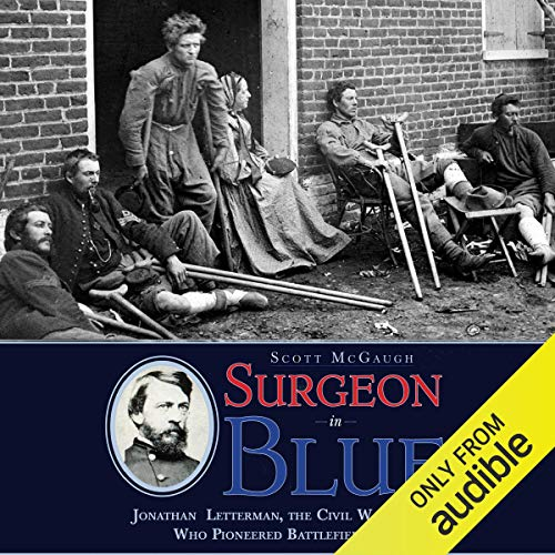 Surgeon in Blue audiobook cover art