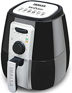 Inalsa Air Fryer Fry-Light-1400W with 4.2L Cooking Pan Capacity, Timer Selection and Fully Adjustable Temperature Control,...