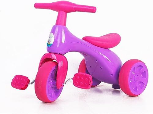 XQ Baby-Kind 18 Monate oder mehr stumm d fendes haltbares TPR-rundes Dreirad-fürrad