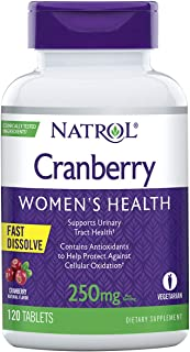 Natrol Cranberry Fast Dissolve Tablets, 250mg, 120 count