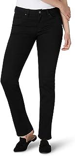 Lee Women's Misses Regular Fit Straight Leg Jean