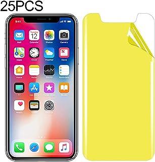 LIJINGFANG 25 PCS For iPhone X/XS Soft TPU Full Coverage Front Screen Protector