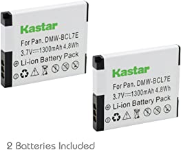 Kastar Battery 2-Pack for Panasonic DMW-BCL7E, DMW-BCL7 and Panasonic Lumix DMC-F5, Lumix DMC-FH10, Lumix DMC-FS50, Panasonic Lumix DMC-SZ3, Lumix DMC-SZ9, Panasonic Lumix DMC-XS1, Lumix DMC-XS3