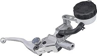 デイトナ NISSIN (ニッシン) ブレーキマスターシリンダー 横型 (11mm) シルバーボディ/バフクリアーアジャスタブルショートレバー 26854